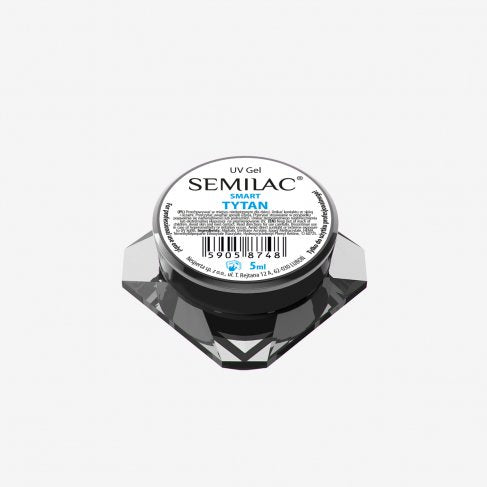 Semilac UV Gel Smart Tytan 5 ML - SemilacUSA