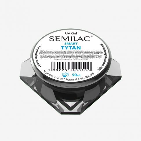 Semilac UV Gel Smart Tytan 50 ML - SemilacUSA