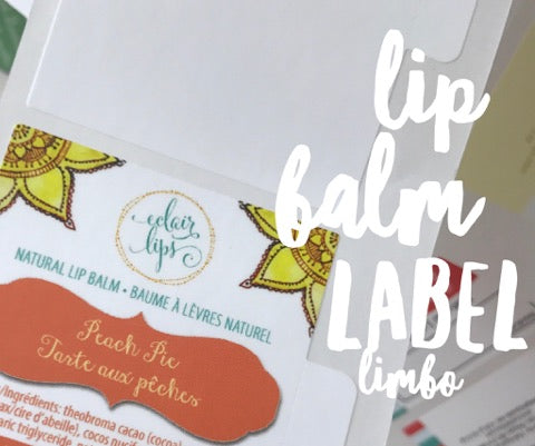 Lip Balm Label Limbo