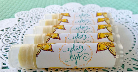 Eclair Lips tubes in various dessert flavours