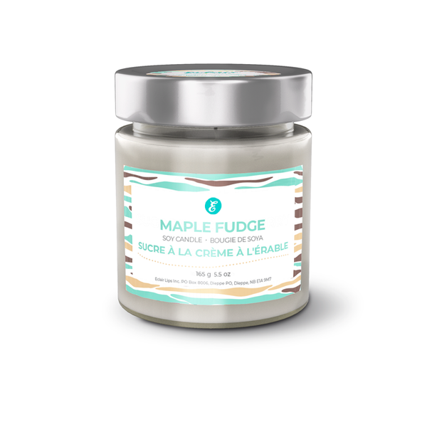 Maple Fudge Soy Candle