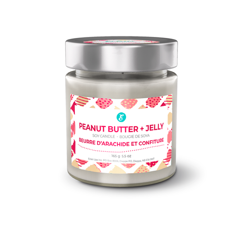 Peanut Butter + Jelly Soy Candle