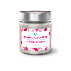 Sugared Cranberry Soy Candle