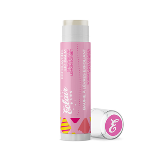 Exfoliating Lip Balm - Strawberry Lemon Sorbet