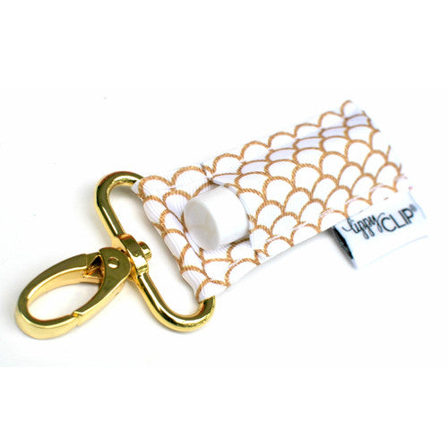 LippyClip® Lip Balm Holder - Gold Mermaid
