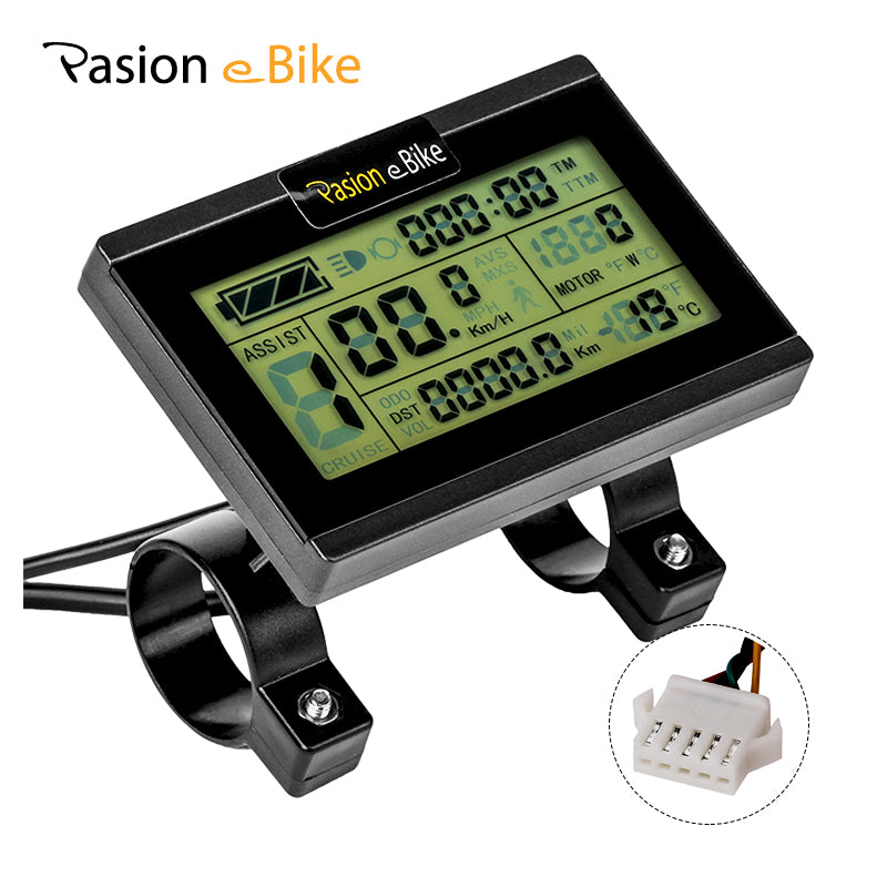 HOW TO INSTALL AND PROGRAM THE KT-LCD3 for Pasion e Bike 48v 1500w Motor Kits