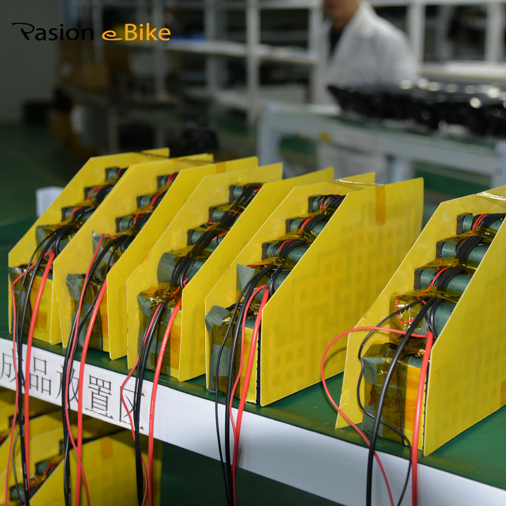 Passion ebike  52v 20.3ah Triangle Battery High Quality Battery Pack Produce Process