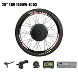 PASION E BIKE 48V 1000W Electric Bicycle Conversion kit Cassette Rear Wheel Motor Kit For Bike MTB CST Electric Bicycle Wheel