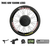 Pasion E BIKE Conversion Kit 48V 1500W Cassette Electric Bike Conversion Kit 1500W Motor Wheel Electric Bicycle Hub Motor Kit