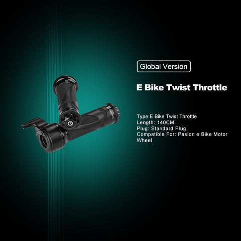 Pasion E Bike Twist Speed Throttle 24V 36V 48V 72V Electric Bicycle Parts & Electric Bike Accessories