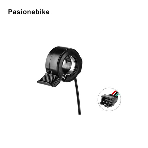 Pasion E Bike Throttle 36V 48V 72V Finger E Bike Thumb Throttles Electric Bike Throttle Electric Bicycle Accessories Parts