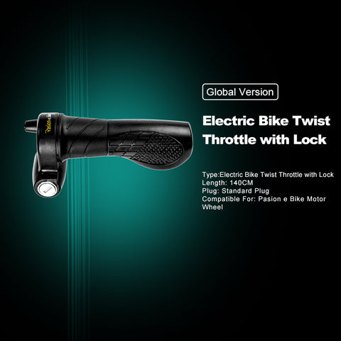PASION E BIKE Twist Throttle 72V Electric Bicycle Speed Throttle 24V 36V 48V 60V Electric Bike Throttle Ebike Twist Throttle