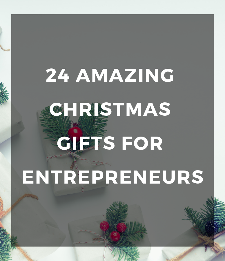 24 amazing Christmas gifts for entrepreneurs