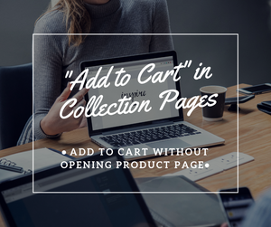 """Add to Cart"" in Collection Pages - NinjaNutz®"