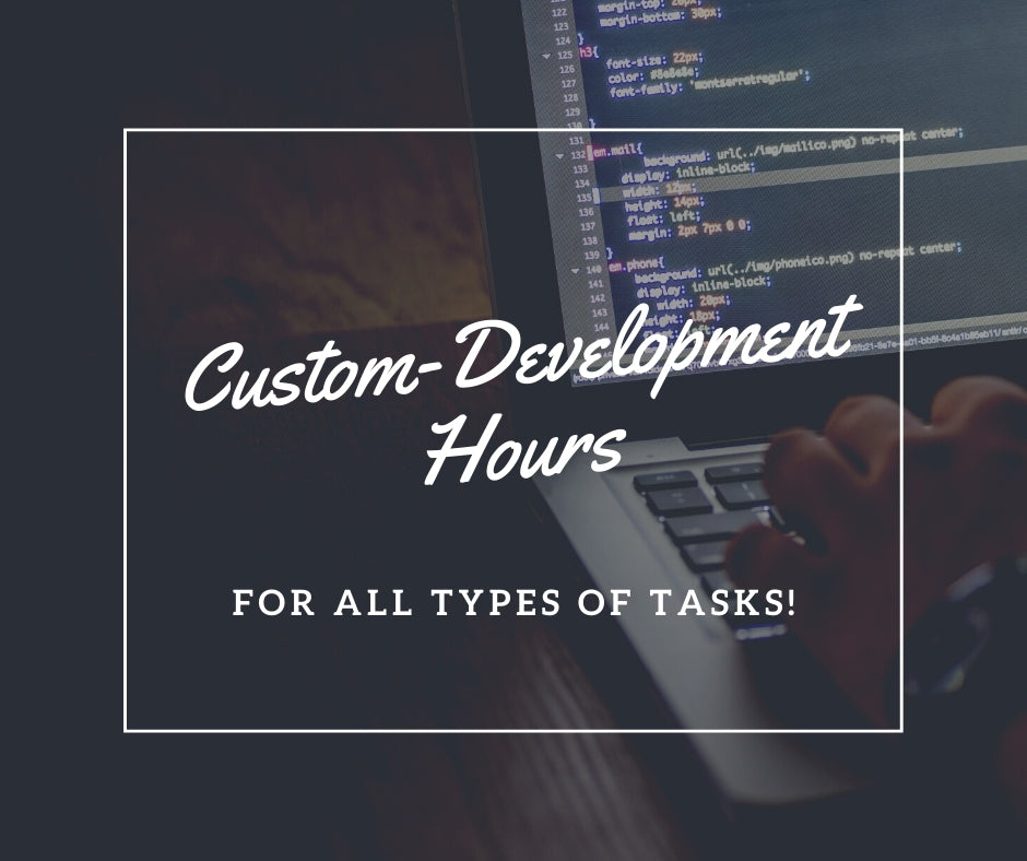 Custom-Development Hours - For All Types of Tasks - NinjaNutz
