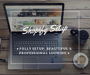 ⚡Full Professional Shopify Store Setup