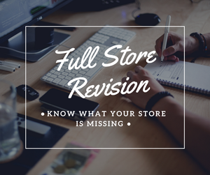 Full Shopify Store Revision - NinjaNutz