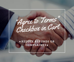 """Agree To Terms"" Checkbox In Cart Page - NinjaNutz"