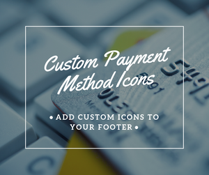 Add Custom Payment Method Icons - NinjaNutz
