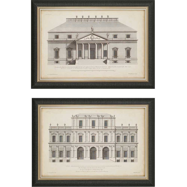 Vintage Facade I | Set of 2