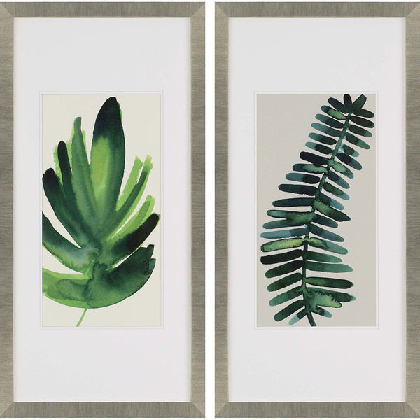 Palm Leaves I | Set of 2