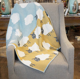 Baby Sheep Throw Blanket