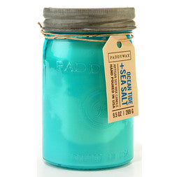 Paddywax Relish Jar Candle | Ocean Tide + Sea Salt
