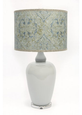 Blue Tile Table Lamp
