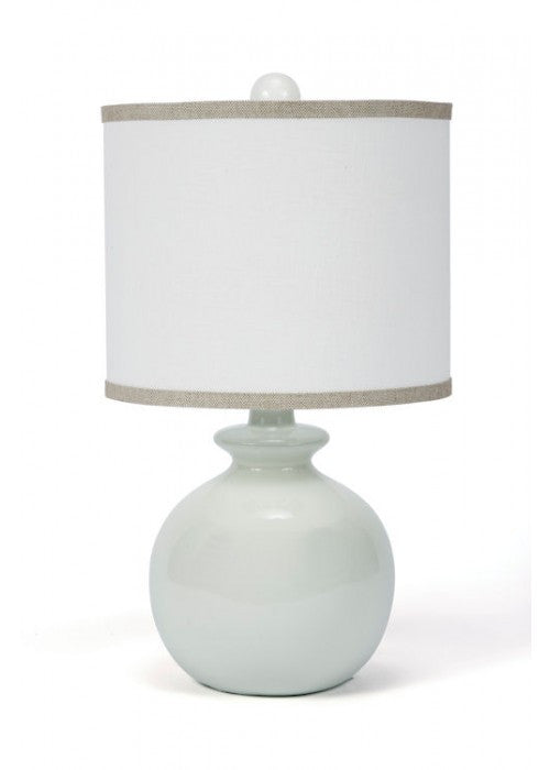 Fleeting green ceramic table lamp white goat fleeting green ceramic table lamp mozeypictures Image collections