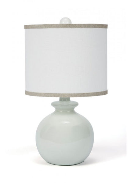 Fleeting Green Ceramic Table Lamp