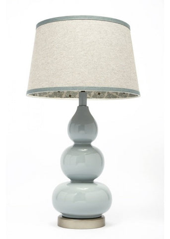 Eva Rain Fabric Lined Table Lamp