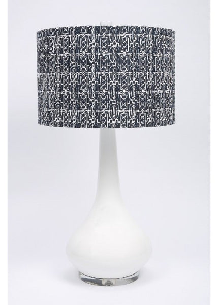 Lucia Navy Table Lamp