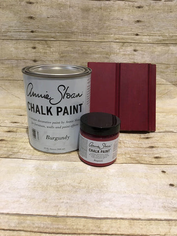 Annie Sloan Chalk Paint | Burgundy