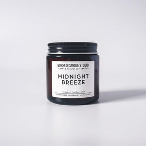 Borneo Candle Studio - Soy Candle [Midnight Breeze]