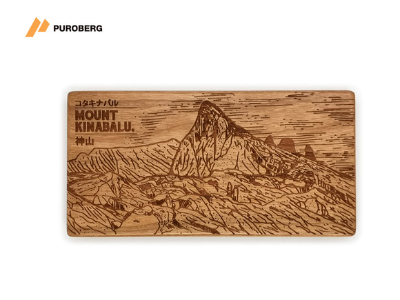 Puroberg - Pure Walnut Powerbank [Mount Kinabalu]