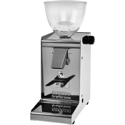 Ascaso Mirrored S/S Finish Mini Espresso Grinder FLAT burr, STEPLESS DOSERLESS - My Espresso Store