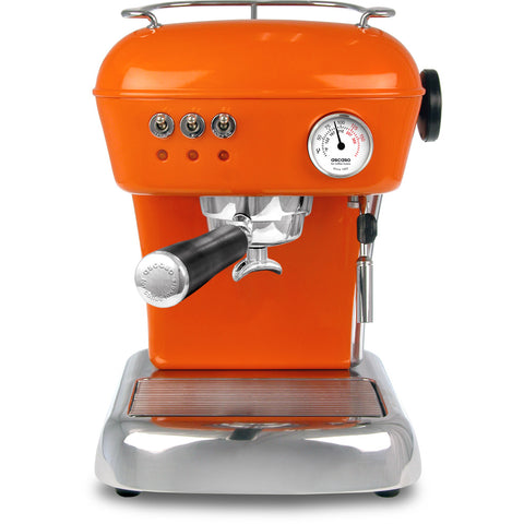 Ascaso Dream Up V3 Espresso Machine - Mandarin Orange with Black Handle - My Espresso Store