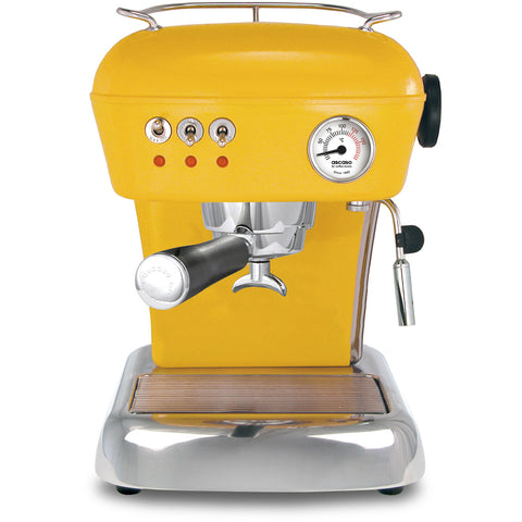 Ascaso Dream Up V3 Espresso Machine - Sun Yellow with Black Handle - My Espresso Store