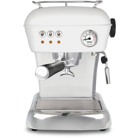Ascaso Dream Up V3 Espresso Machine - Cloud White with Black Handle - My Espresso Store