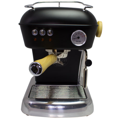 Ascaso Dream UP V3 - Black w/ WOOD Handle and Steam Knob - My Espresso Store
