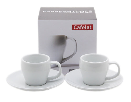 Cafelat Porcelain 2oz Espresso Cups - Set of 2 - My Espresso Store