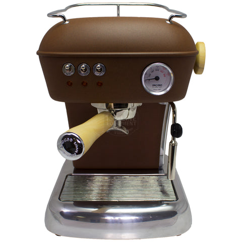 Ascaso Dream UP V3 - Chocolate w/ WOOD Handle and Steam Knob - My Espresso Store