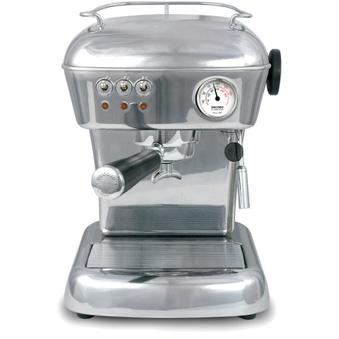 Ascaso Dream UP V3 Espresso Machine – Polished Aluminum, w/ Hand Crafted Finish