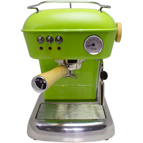 Ascaso Dream UP V3 - Pistachio w/ WOOD Handle and Steam Knob - My Espresso Store