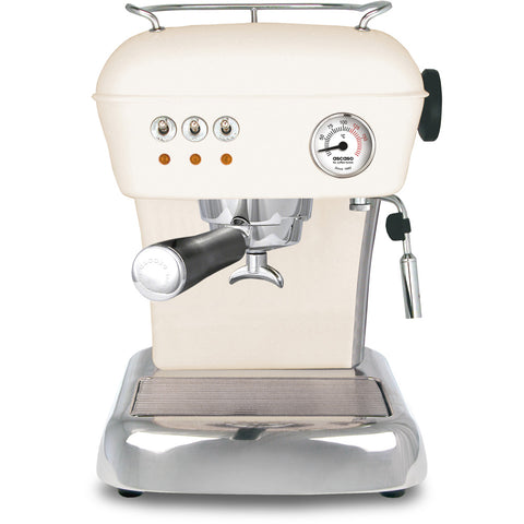 Ascaso Dream Up V3 Espresso Machine - Sweet Cream with Black Handle - My Espresso Store