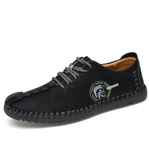 Handmade Mens Casual Leather Shoes - Super Elite Trends