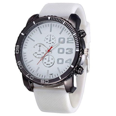 < GEN-3R > Mens Stylish Silicone Sports Watch - Super Elite Trends