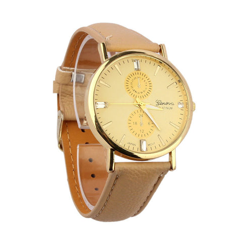 PEACH - Unisex Analog Quartz Watch