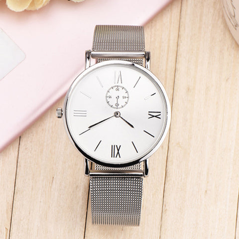 CRÉTE Unisex Stainless Steel Wrist Watch - Super Elite Trends