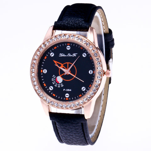 CANDY Leather Strap Analogue Wrist Watch - Super Elite Trends